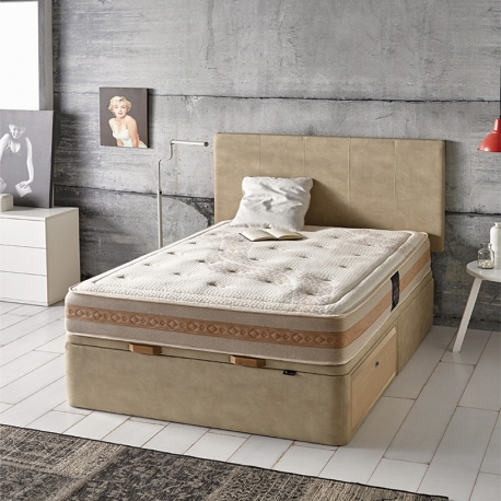 Coffre lit MIXED-BED. Hauteur totale 40 cm