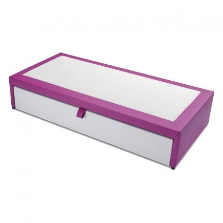 Compact avec lit gigogne TWIN. Hauteur totale 39 cm