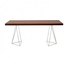 Bureau Design *TEMAHOME TRESTLES* 160 x 90 Noyer