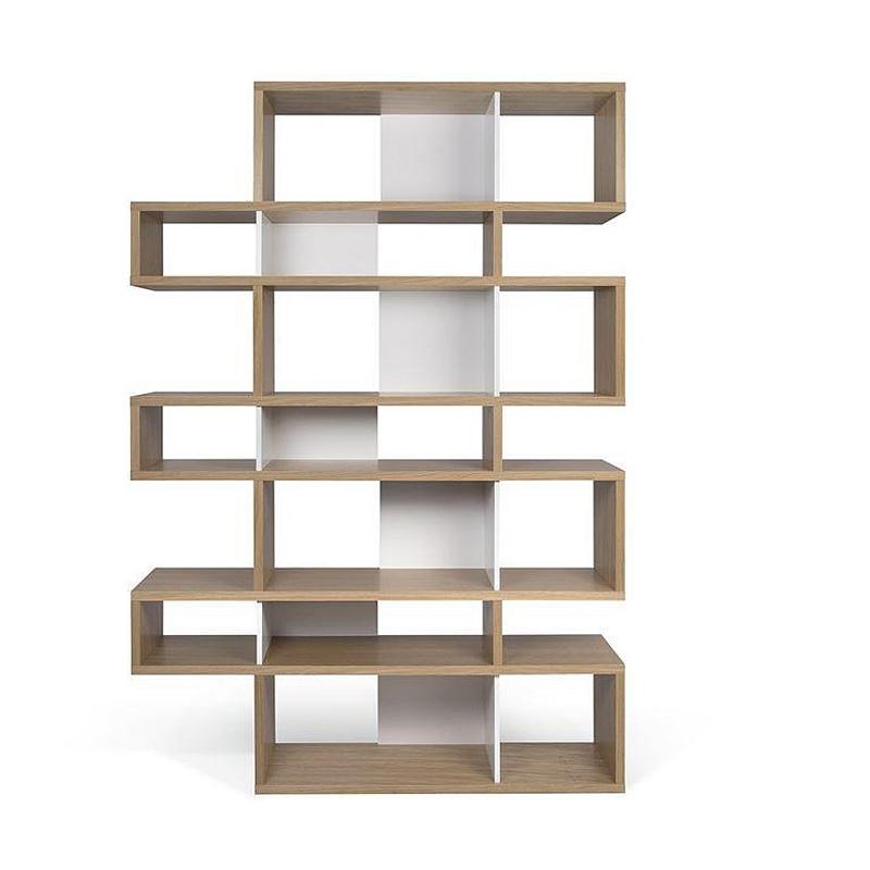 temahome london biblioth que design 7 niveaux blanc avec