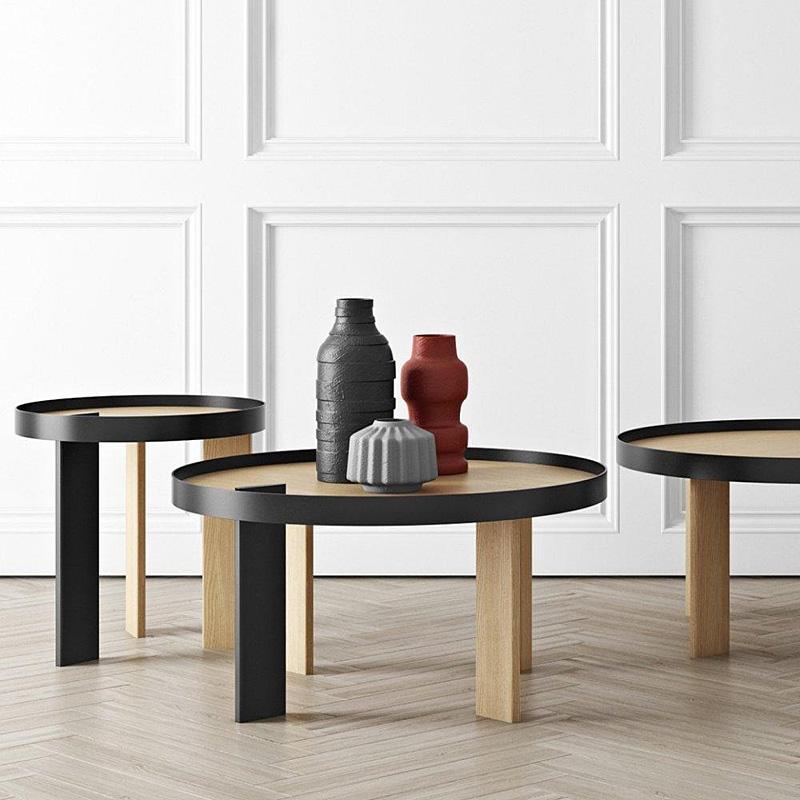 tema home mesa de centro bruno 80 gm roble y metal