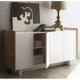 TemaHome SKIN buffet design chêne et blanc