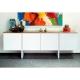TemaHome SKIN bufete de diseño roble y blanco