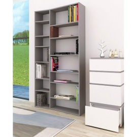 TemaHome VALSA 1 biblioteca de diseño gris