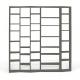 TemaHome VALSA 4 bibliothèque design blanche
