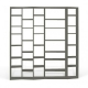 TemaHome VALSA 4 biblioteca de diseño blanco