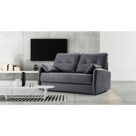 Canapé-lit PAULA 3 places lits jumeaux 80 x 190