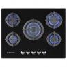 Placa de Encastrable 5 Gas Vidrio. JPEMGBG-705A JOCEL