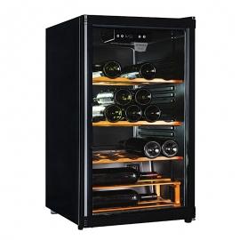 Vinoteca *JOCEL* JCAV003362 para 59 botellas, estanterias de madera, iluminación interior