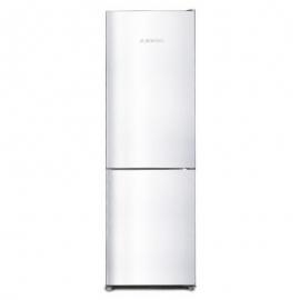 Réfrigérateur combiné JOCEL JC-320LNFB (HxLxP) 185,5 x 60 x 67,2 cm. 320L. Total no frost. A+. Couleur blanche.