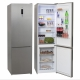 Réfrigérateur combiné *JOCEL* JC-351LNFI (HxLxP) 200 x 59,5 x 63,5 cm - 317L. Total No Frost. A+. Acier inoxydable.