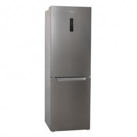 Réfrigérateur combiné *JOCEL* JC-317LNFI (HxLxP) 185,5 x 60 x 68,5 cm - 317L. Total No Frost. A+. Acier inoxydable.