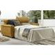 Canapé-lit MAGDA. Système italien Matelas 17 cm d'épaisseur et lit 140 x 190 cm