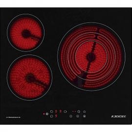 Plaque vitrocéramique JOCEL JP3EV-002006. 5,2 x 59 x 52 cm