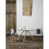 Table ronde LESLY 120 cm couleur blanche