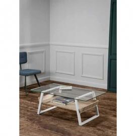 Table basse DARIUS 110 cm San Remo en chêne
