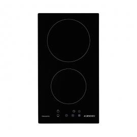 Placa Vitrocerámica JOCEL  JP2EV010148 - 2 zonas de cocción, bloqueo para niños