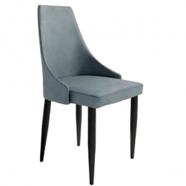 Silla PARIS Plomo/Gris/Beige/Musgo. Silla con asiento y respaldo