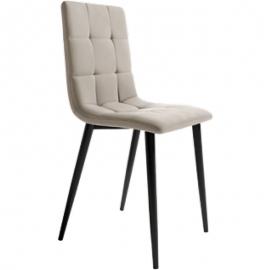 Silla LISBOA: 4 Colores: Gris/Beige/Plomo/Musgo. Silla con asiento y respaldo.