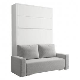 Cama Abatible vertical con Sofá FALCON- SOFA - 31 colores de melamina para elegir