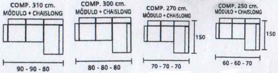 medidas horizontal