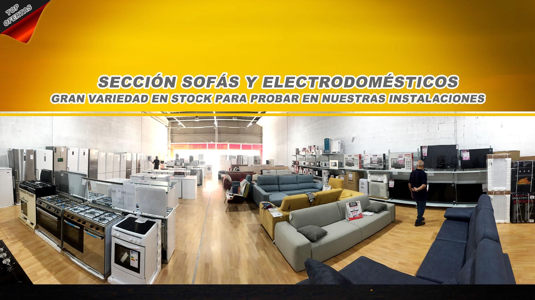 SECCION ELECTRODOMESTICOS - MEJORES PRECIOS EN FIGUERES - GIRONA