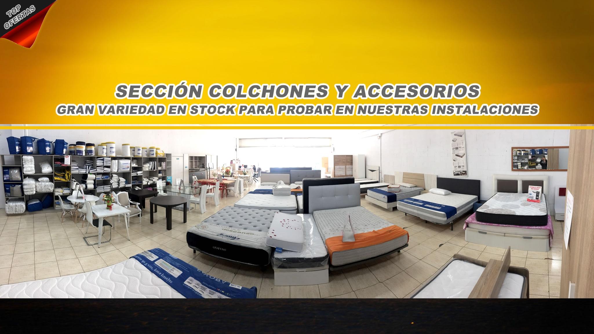 SECCION COLCHONES Y SOFAS